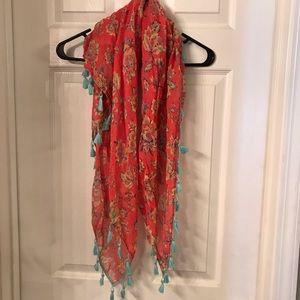 Brand new American eagle tassel scarf